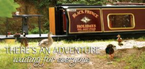 Black Prince Dog Friendly Narrowboat Holidays & Canal Boat Hire UK